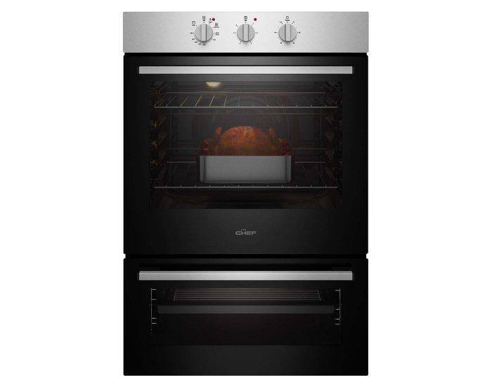 Chef 80L Multifunction Oven with Separate Grill CVE662SB Main