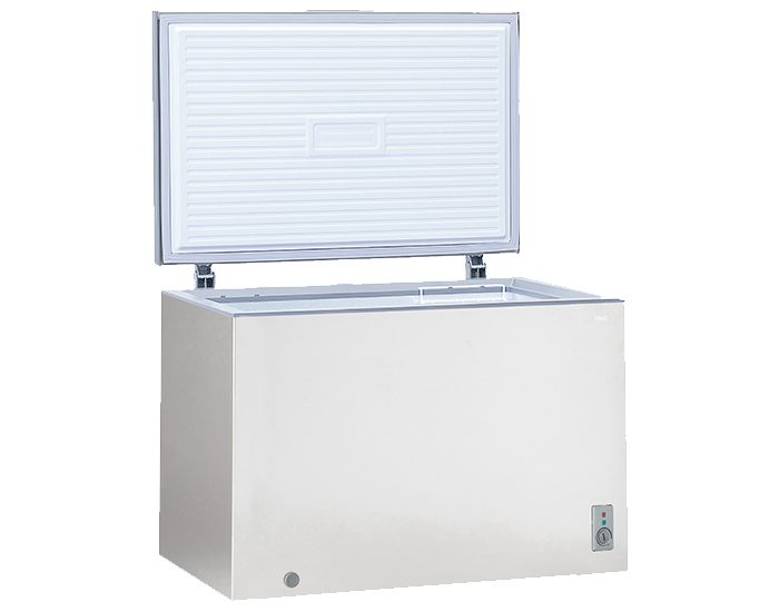 Chiq CCF291S 292L Chest Freezer Open View