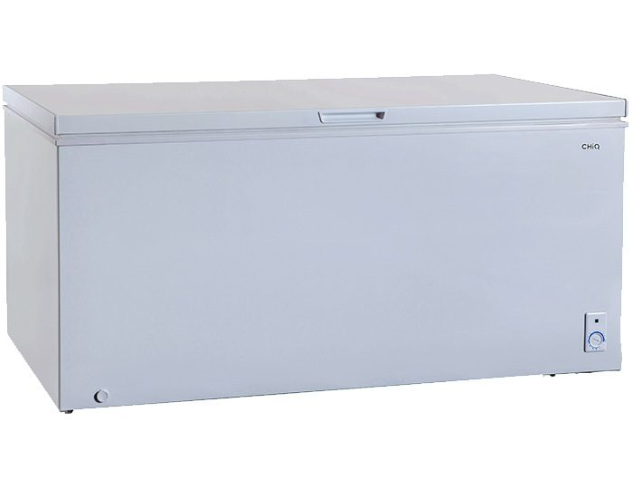 Chiq CCF500W 500L Chest Freezer Closed