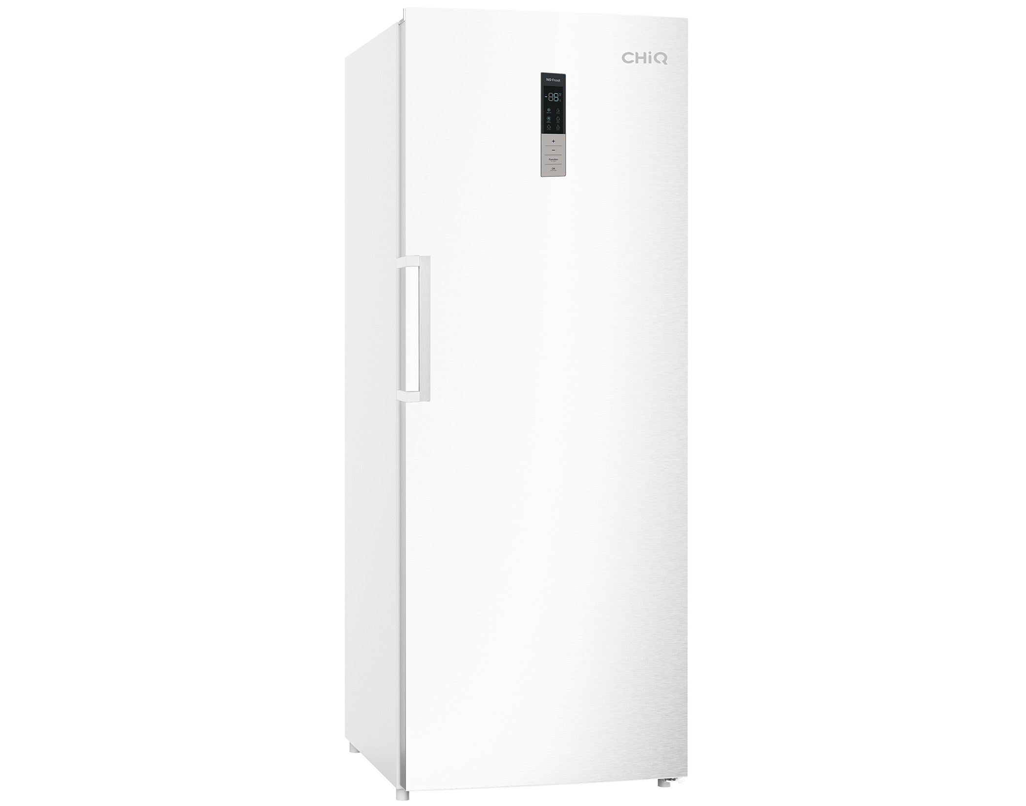 Chiq CSH431WR 431L Frost Free Hybrid Fridge Freezer in White main