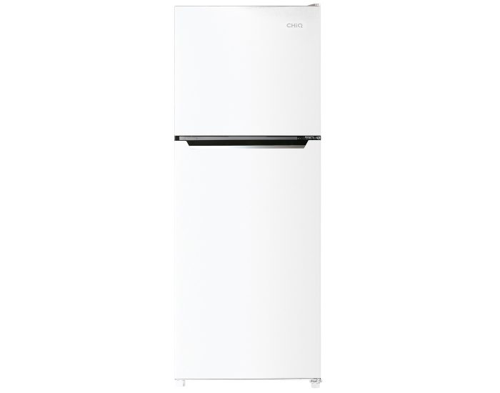 Chiq CTM320W 320L Top Mount Fridge in White close