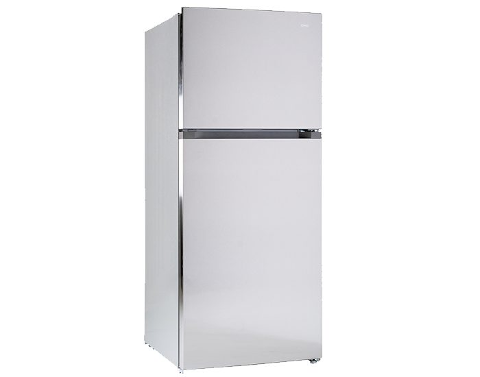 Chiq CTM434S 435Lt Top Mount Fridge Silver Main