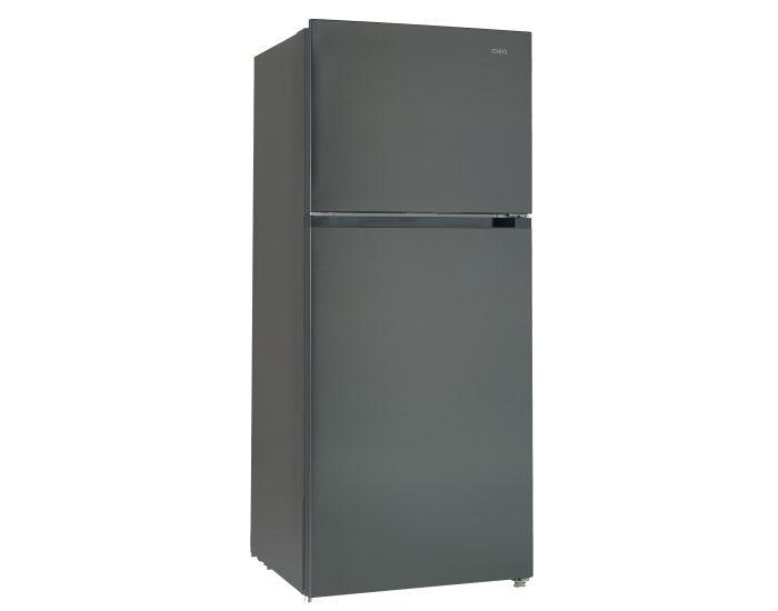 Chiq CTM549B 550L Top Mount Fridge in Black Steel main