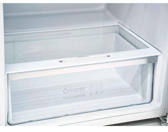 Chiq CTM550W 550L White Top Mount Fridge Crisper Box