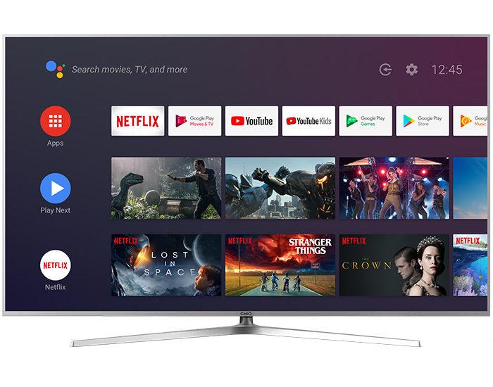 Chiq U58H7A 4K UHD Android Television Main