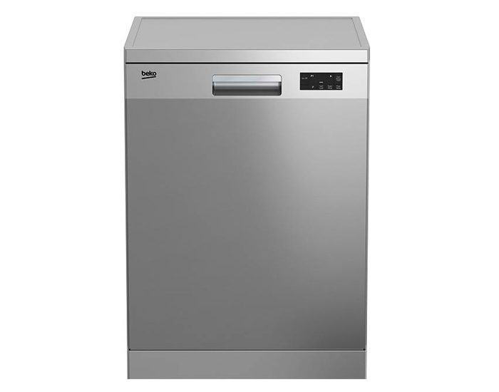 Beko DFN16420X 60cm Stainless Steel Freestanding Dishwasher