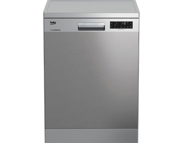 Beko DFN28430X 60cm Stainless Steel Freestanding Dishwasher