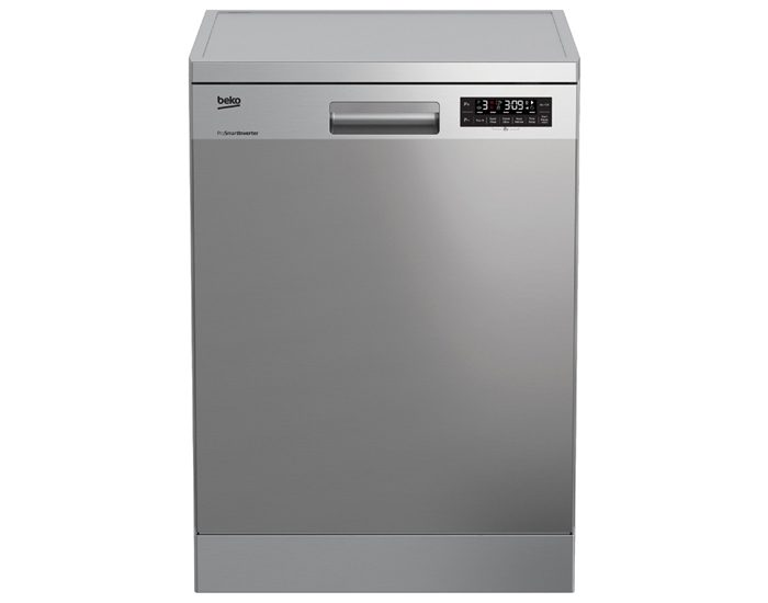 Beko DFN38450X 60cm Stainless Steel Freestanding Dishwasher