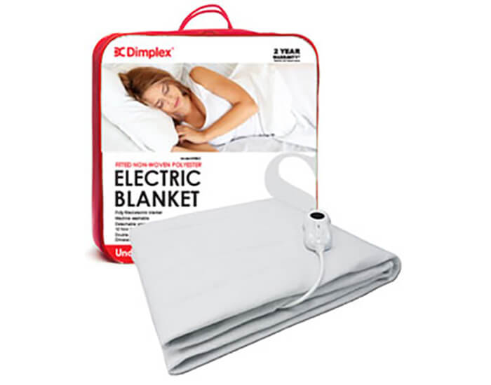 Dimplex DHEBUS Fitted Non-Woven Polyster Electric Blanket - Single