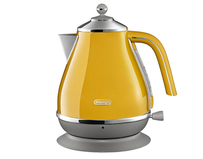 DeLonghi KBOC2001Y Icona Capitals Kettle New York Yellow Main