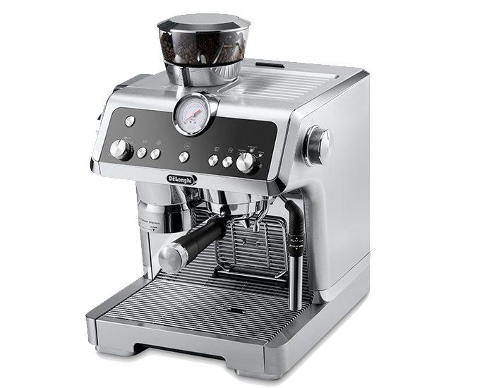 Delonghi EC9335M La Specialista Maual Coffee Machine Angle
