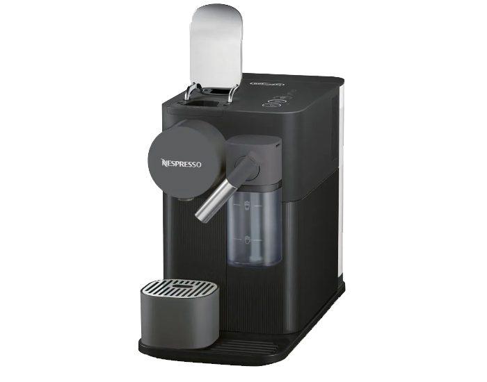 Delonghi EN500B Nespresso Lattissima One Pod Machine Angle