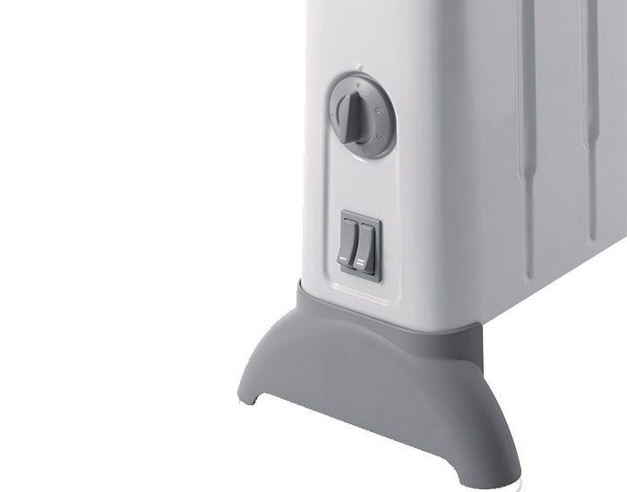 Delonghi HCM2030 2000W Portable Convection Heater Controls