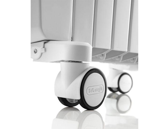 Delonghi TRD41200MT 6 Fin Oil Column Heater Castors