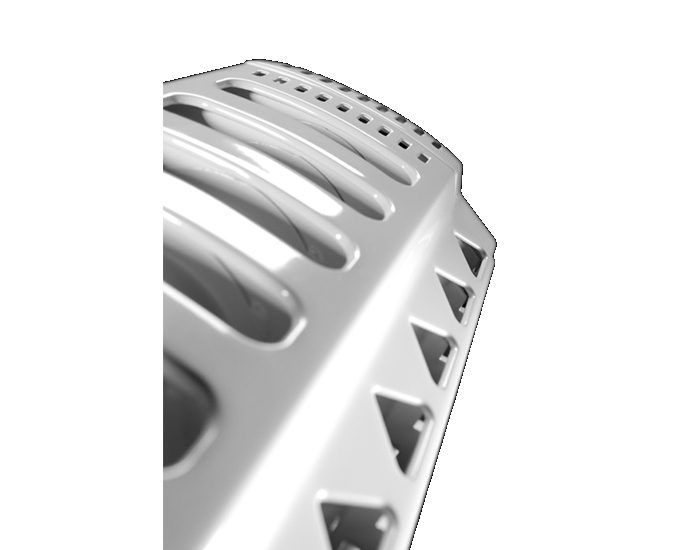 Delonghi TRD41200MT 6 Fin Oil Column Heater Top