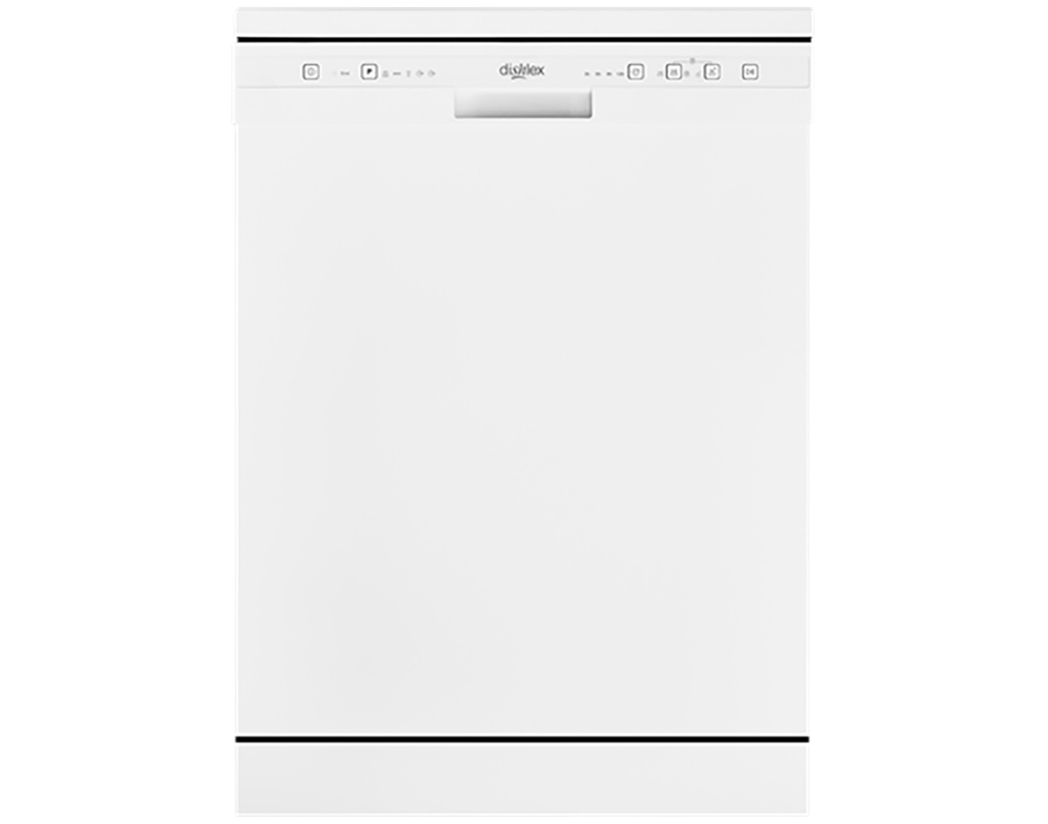 Dishlex DSF6104WA 13 Place Setting Freestanding Dishwasher in White Main