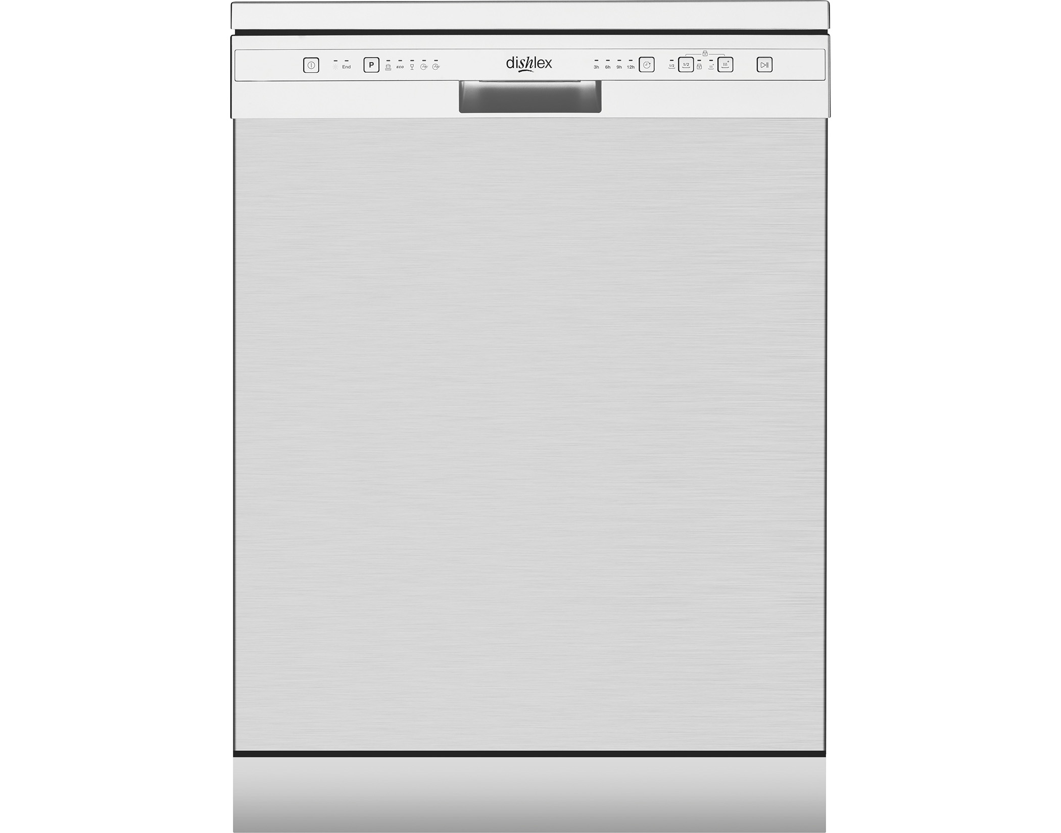 Dishlex DSF6104XA 13 Place Setting Freestanding Dishwasher in Stainless Steel
