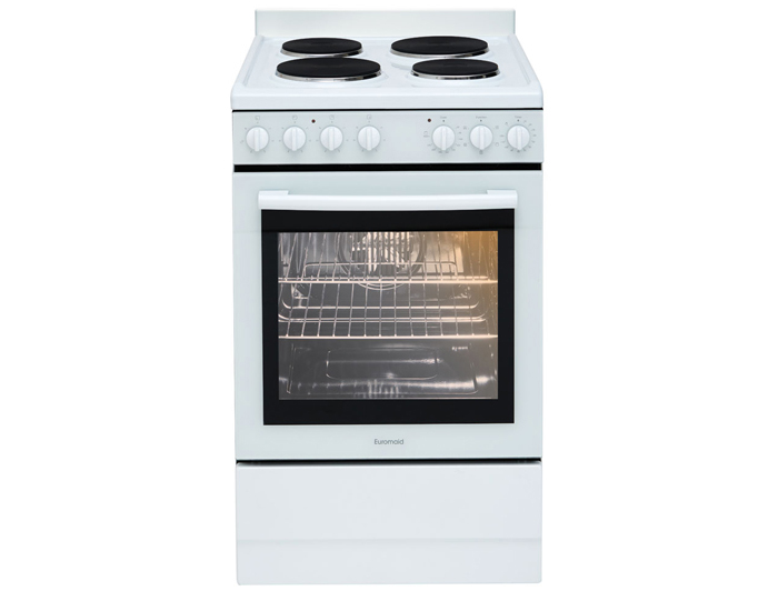 Euromaid EFF54W 54cm Electric Freestanding Oven