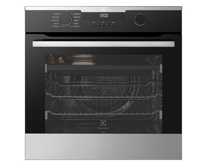 Electrolux EVEP614SC 60cm 10 Function Pyrolytic Wall Oven