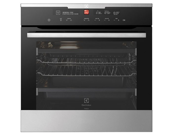 Electrolux EVEP616SC 60cm 13 Function Pyrolytic Wall Oven