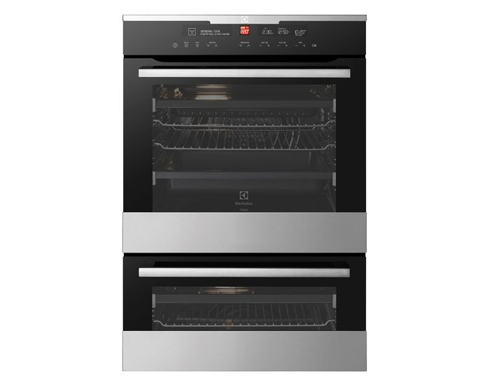 Electrolux EVEP627SC 60cm Duo Pyrolytic Wall Oven
