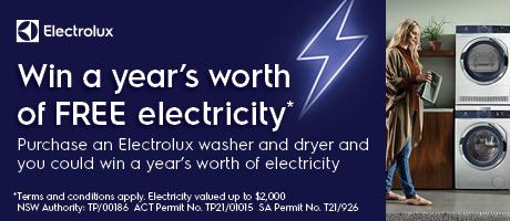 2021 Electrolux Free Electricity Slider