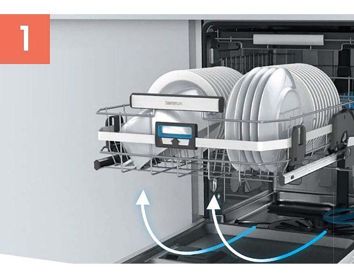 Electrolux 60cm Built-Under Dishwasher with Comfort Lift ESF8735RKX 1