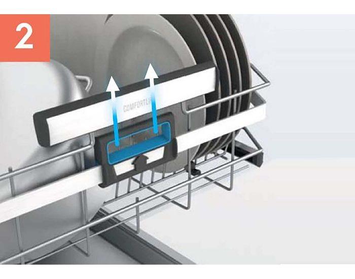 Electrolux 60cm Built-Under Dishwasher with Comfort Lift ESF8735RKX 2