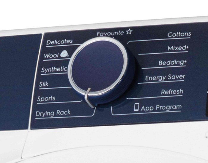 Electrolux EDH803BEWA 8kg UltimateCare 800 Heat Pump Dryer Control Knob
