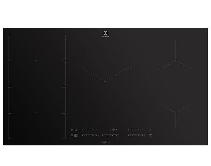 Electrolux EHI997BD 90cm 5 Zone Induction Cooktop With FlexiBridge