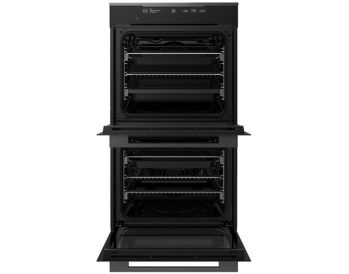 Electrolux EVE636DSD Dark Stainless Steel,Black 60cm 12 Function Double Oven Interior