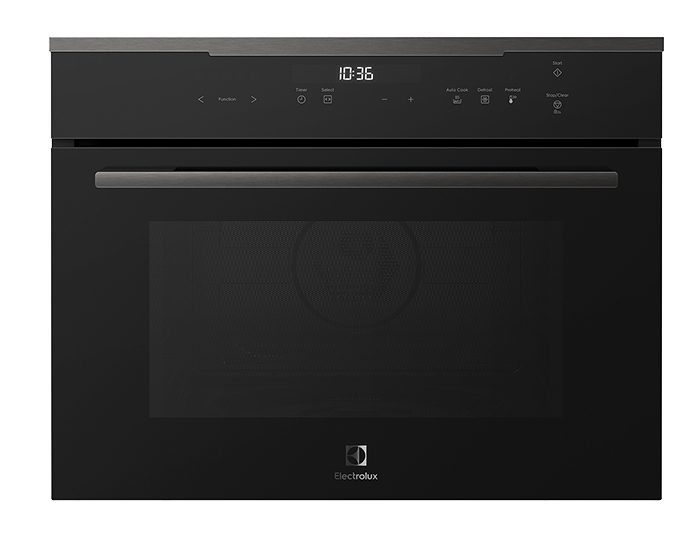 Electrolux EVEM645DSD 44L Dark Stainless Steel 9 Functions Compact Combination Microwave Oven