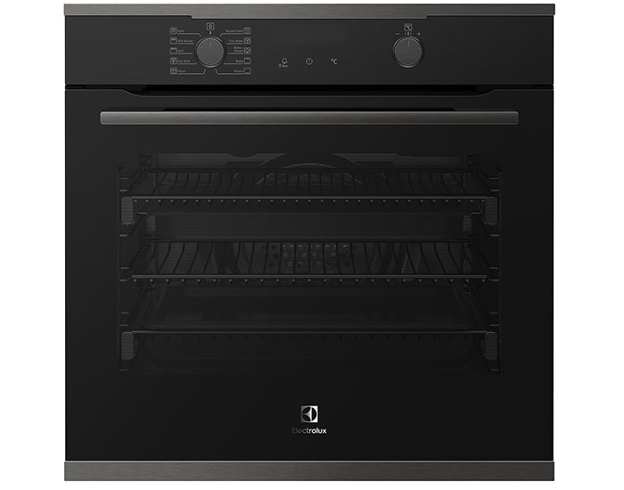 Electrolux EVEP614DSD Dark Stainless Steel, Black 60cm Pyrolytic 10 Function Oven Main