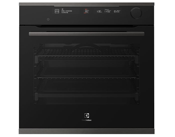 Electrolux EVEP618DSD 60cm Dark stainless steel 16 multifunction steam oven with pyrolytic cleaning Main
