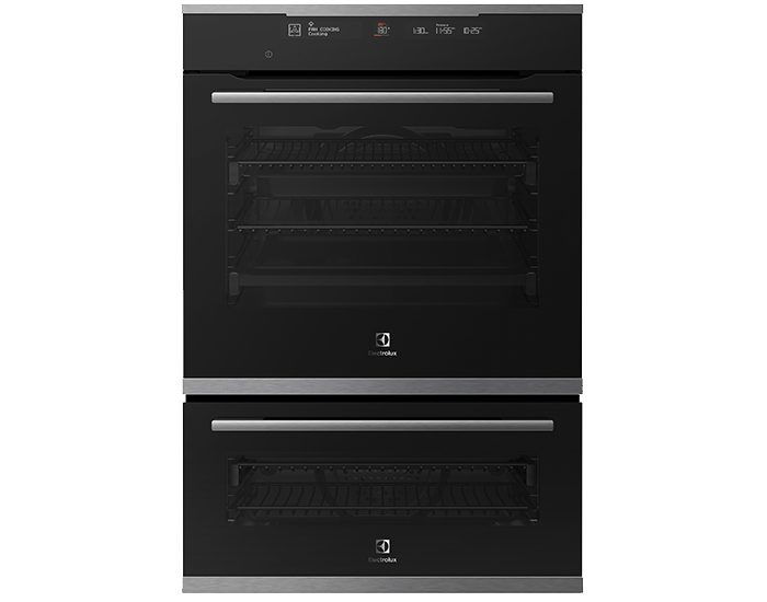 Electrolux EVEP626SD 60cm Stainless Steel Multifunction Duo Oven With Bake +Steam, Pyrolytic Cleaning