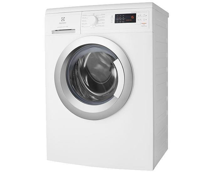 Electrolux EWF7525CGWA 7.5Kg Front Load Washing Machine Angle
