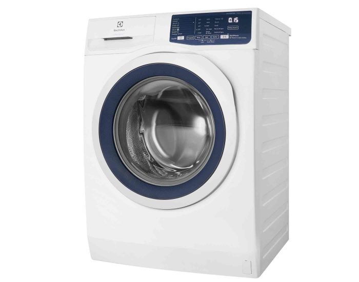 Electrolux EWF7525DQWA 7.5kg Front Load Washer Angle