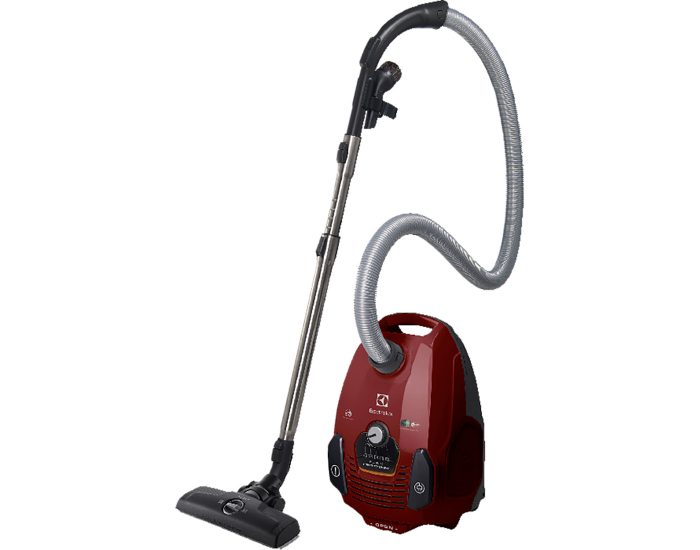 Electrolux ZSP2320 Silentperformer Bagged Vacuum Cleaner in Red Main