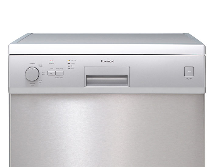Euromaid DR14S 14 Place Stainless Steel Dishwasher Controls