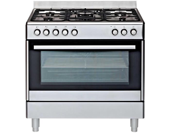 Euromaid GE90S 90cm Stainless Steel Freestanding Oven