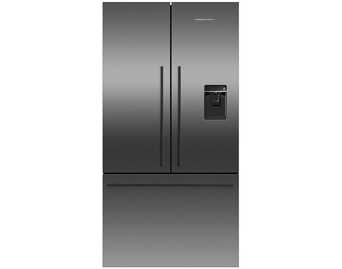 Fisher & Paykel RF610ADUB5 900mm, 614L, Ice & Water Black French Door Fridge Main