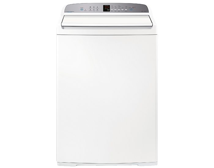 Fisher & Paykel WA1068G1 10kg WASHSMART Top Load Washer Front View