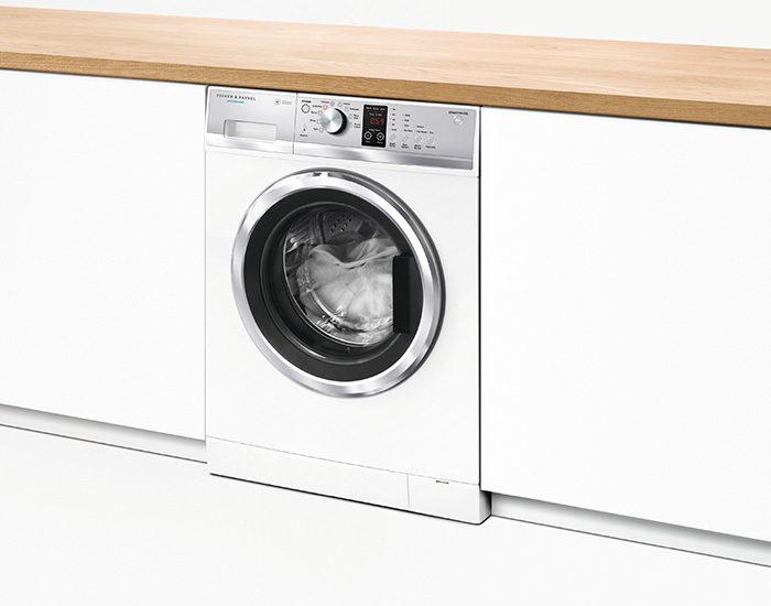 Fisher & Paykel WH7560J3 7.5Kg Front Load Washer LifeStyle Angle