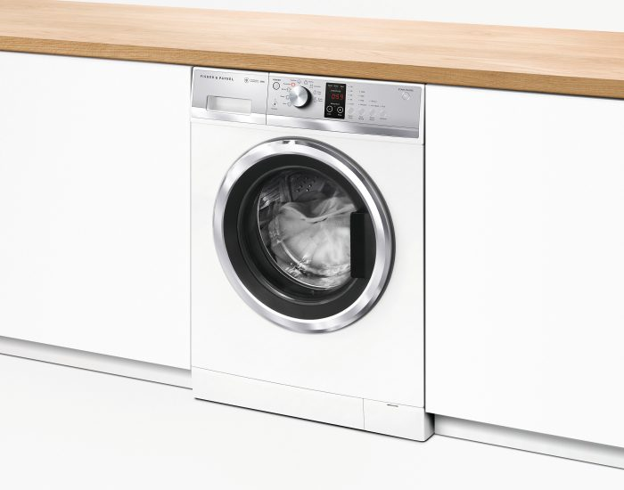 Fisher Paykel WH8060J3 Front Load Washing Machine Angle