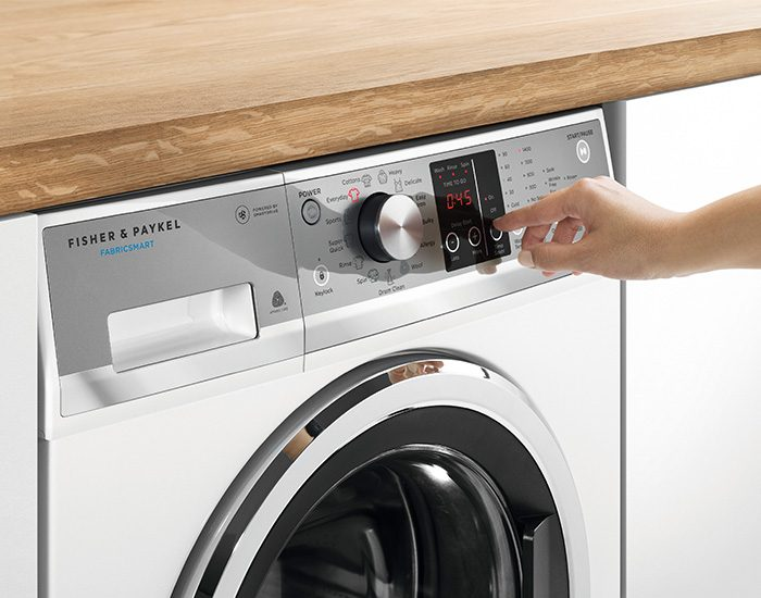 Fisher & Paykel WH8560F1 8.5kg Front Load Washer Control Panel Lifestyle