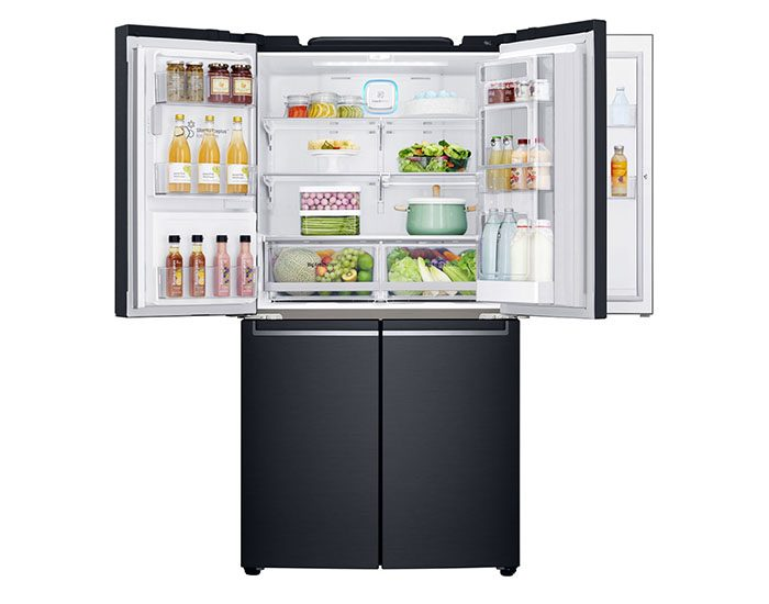 LG GFD708MBSL 708L French Door Fridge