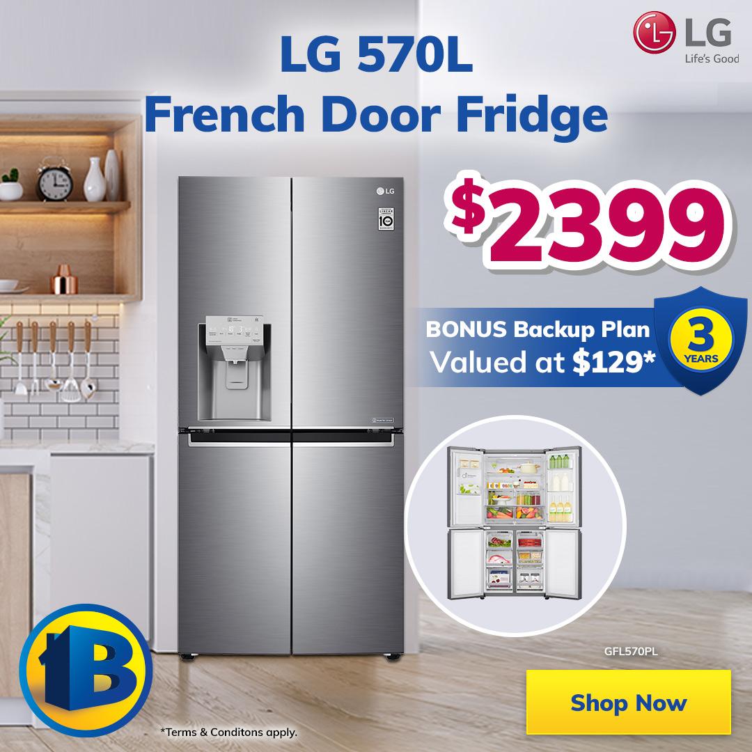 LG Month French Door Fridge Mobile