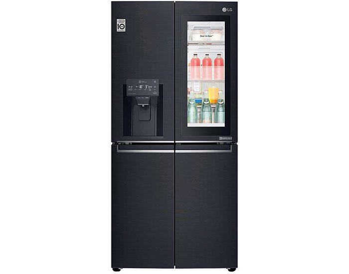 LG GFV570MBL 570L Slim French Door Fridge