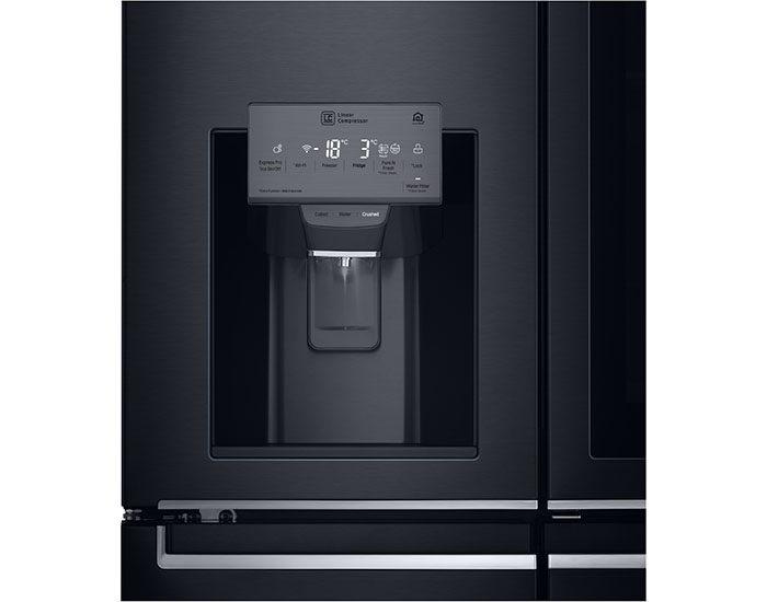 LG GFV910MBSL 910L Insta View French Door Fridge