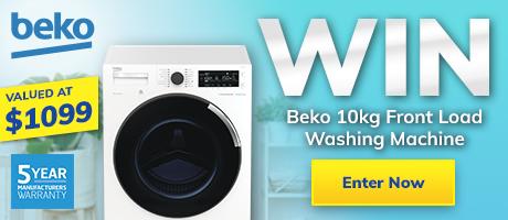 GIVEAWAY – Beko Front Load Washing Machine